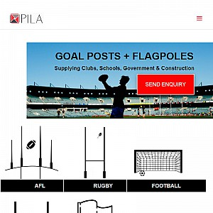 Flag Poles, Goal Posts, and more - From the experts at PILA Group
