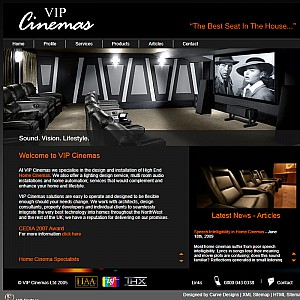 Custom Home Cinema Installations and Design