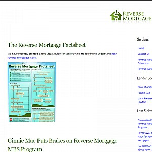 Reverse Mortgages