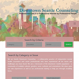 Downtown Seattle Mental Health Counseling