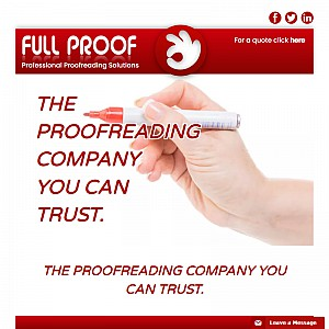 Proofreader for students - proofreading your thesis, dissertation or essay