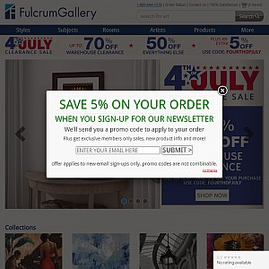 Fulcrum Gallery - High quality art prints, posters, and framing for the selective decorator