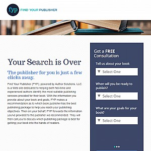 Your Search for the Right Publisher Is Over | Find Your Publisher