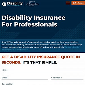 Guardian Disability Insurance Quotes