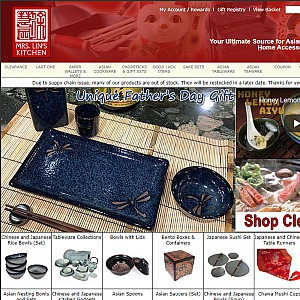 Mrs. Lin's Kitchen Japanese Tableware