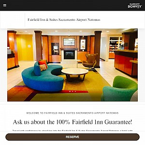 Fairfield Hotel near Sacramento Airport