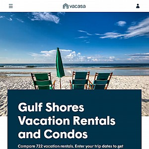 Gulf Shores Vacation Rentals on the Beach or Ocean View
