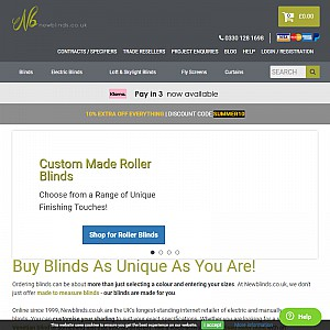 Window Blinds & Conservatory Blinds - Roman Blinds, Roller Blinds, Venetian Blinds