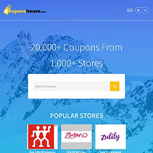 Coupon Codes, Online Discounts at couponshouse.com, Coupon codes and discounts for 6000 online sto