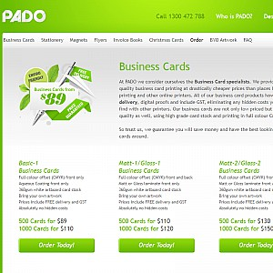 Business Cards by PADO