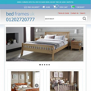 Bed Frames UK | Quality Wooden Beds Frames | Metal Beds Frames.