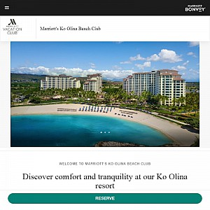 Marriott's Ko Olina Resort & Beach Club