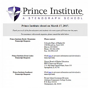Court Reporting School | Montgomery Alabama | Prince Institute