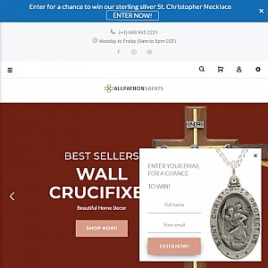 All Patron Saints Medals and Crosses