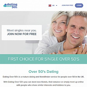 Over 50s Dating Singles