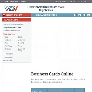 Compare Prices for Business Cards Online