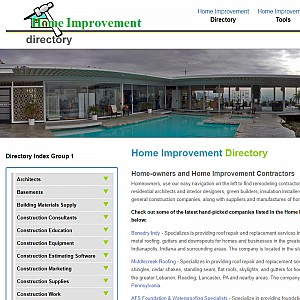 Home Improvement Directory