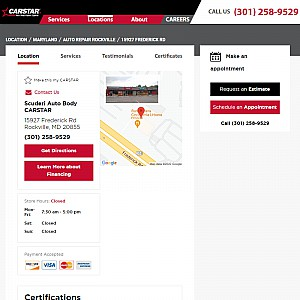 Collision Repair in Maryland