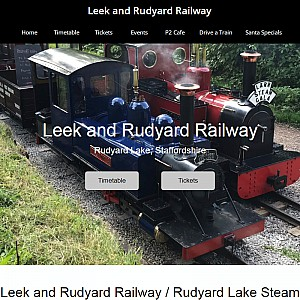 A great day out on Rudyard Lake Steam Railway, Staffordshire