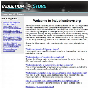 Induction Stove Information