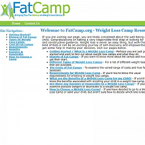 A Guide to Weight Loss Camps & Fat Camps