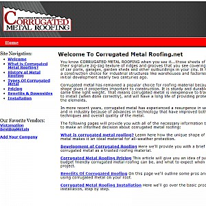 Corrugated Metal Roofing Guide
