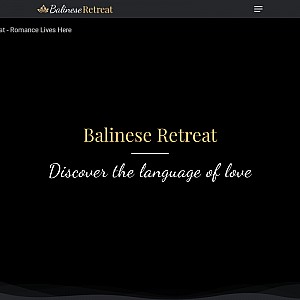 Romantic Getaways at Balinese Retreat
