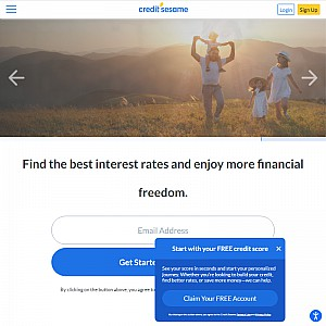 Credit Sesame Personal Finance Tool