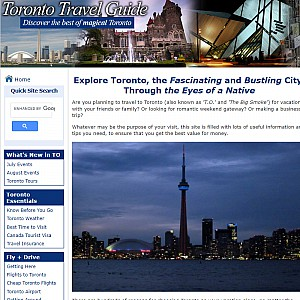 All Inclusive Toronto Travel Guide