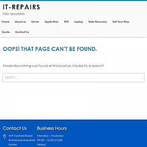 Apple Mac Servicing