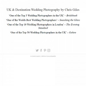 Chris Giles Photography, Professional Photographers in the United Kingdom