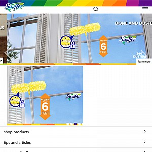 Swiffer Household Cleaning Products