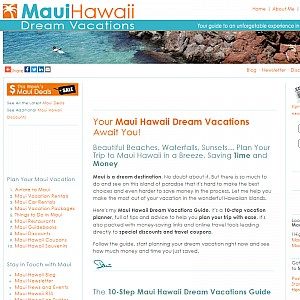 Maui Hawaii Dream Vacations