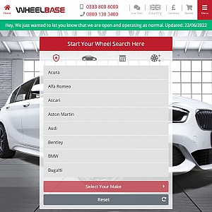 Alloy Wheels and Tyres at Wheelbase