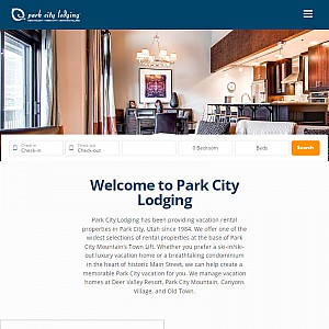 Park City Vacation Rentals - Official Site for Park City Lodging, Inc.
