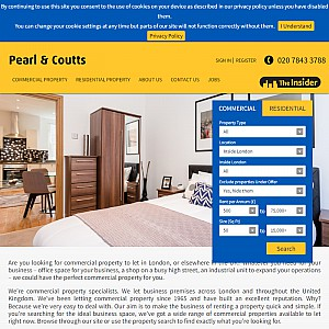 Pearl & Coutts property in London