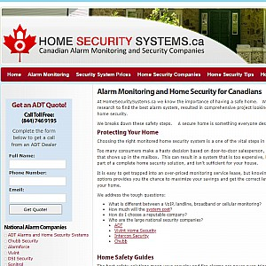 Canadian Security Systems