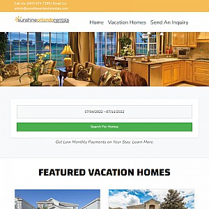 Orlando Vacation Rental Homes Villas and Condos minutes from Disney