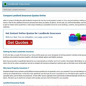 Compare Landlords Insurance