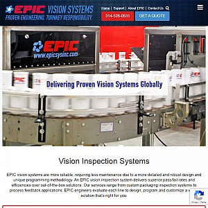 EPIC Machine Vision Systems