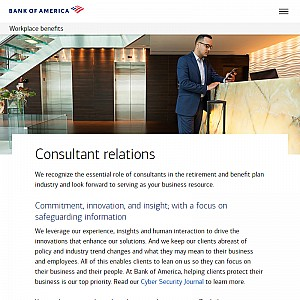 Employee Benefit Consultants, Bank of America Merrill Lynch