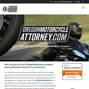 Portland, Oregon Motorcycle Accident Attorney
