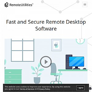 Remote Access Software by Remote Utilities