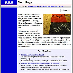 Floor Rugs - Floor Rug Guide