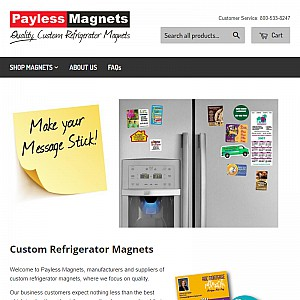 Custom Printed Magnets & Refrigerator Magnets
