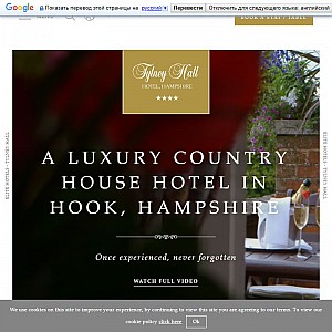 Hotels in Hampshire - Tylney Hall