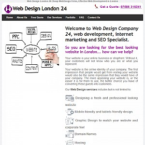 Effective Web Develompent in London