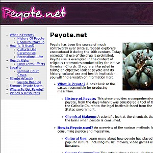 All About Peyote