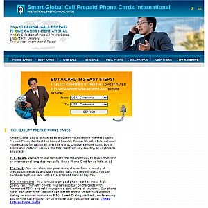 Smart Global Call Phone Cards International