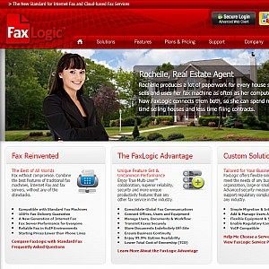 FaxLogic Hosted Internet Fax Services